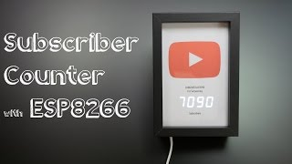 YouTube Subscriber Counter (Under 10K) // Becky Stern