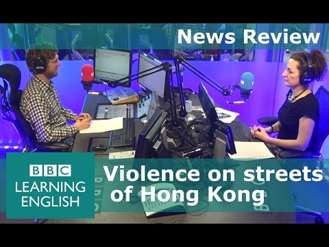 News Review 9th February 2016: Hong Kong - learn the words from the news