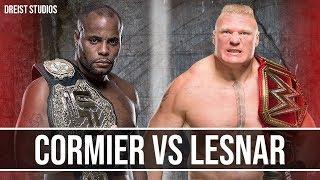 "Brock Lesnar vs Daniel Cormier Promo Trailer | GOAT vs BEAST | ""Push Me Now"""