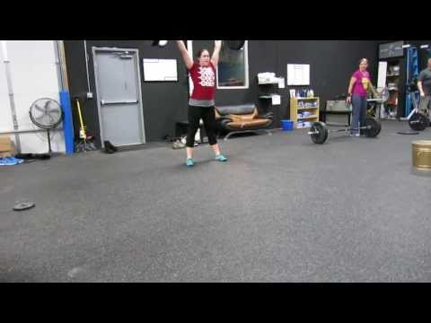 Andrea: 93lbs Clean and Jerk