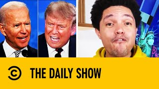 Trump & Biden Could Be Muted During Final Presidential Debate | The Daily Show With Trevor Noah