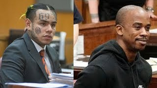 """6IX9INE Limps In Court & Couldn't Look Shotti In The Eye... Shotti Yells To Judge """"It's TREYWAY"""""""