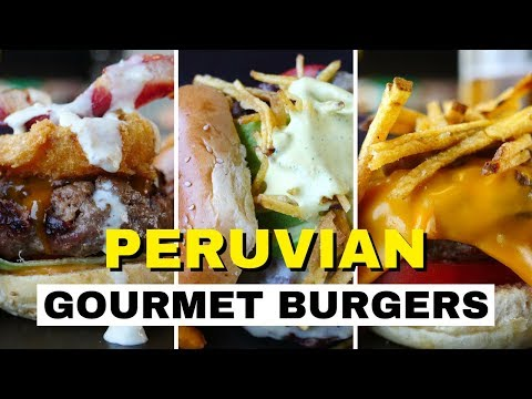 Peruvian Food in Lima (Hamburguesas Peruanas) - Eating the Best Burgers at Papacho's