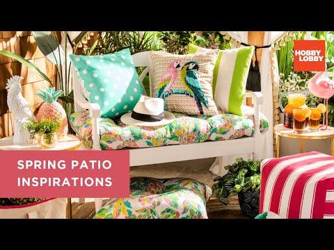 Spring Shop™️ Patio Ideas & Inspirations | Hobby Lobby®