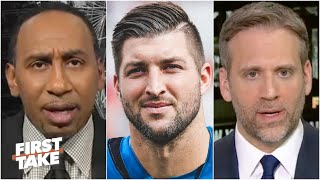 First Take reacts to the Jaguars officially signing Tim Tebow as a tight end