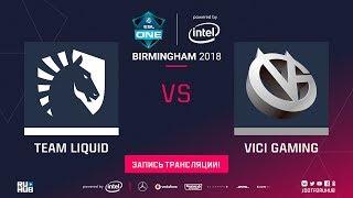 Liquid vs Vici Gaming, ESL One Birmingham, game 2 [Mila, Inmate]