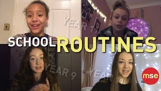 School Routines | Year 11 | Year 9 | What's your morning routine?