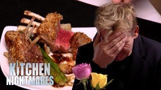 Gordon is Served Hideous RAW Lamb Lollipops | Kitchen Nightmares