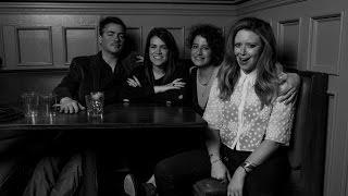 Kevin Corrigan with Natasha Lyonne, Abbi Jacobson and Ilana Glazer