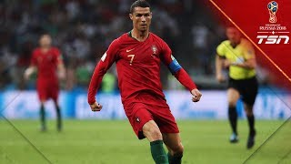 Ronaldo becomes first player to score hat trick against Spain, leading Portugal to draw