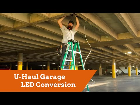 U-Haul Garage LED Conversion