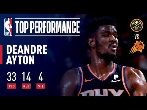 Deandre Ayton Scores A Career High 33 Points (24 Pts in the 2nd Qtr) | December 29, 2018