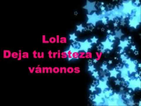 Lola Soledad   Alejandro Sanz Letra Lyrics + Ringtone Download