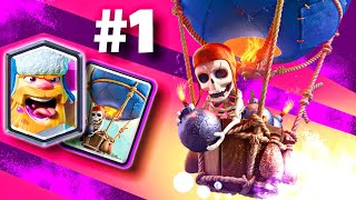 WOW! This LumberLOON Deck is UNREAL in Clash Royale