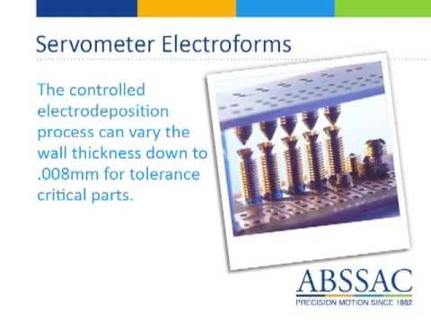 ABSSAC Servometer Products  2013