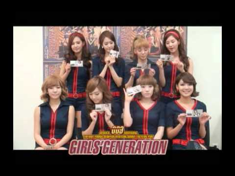 Girls` Generation, ''Happymoney, star gift certificate 'Hoot' Collection'' ad movie