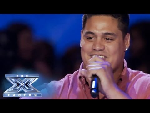 "Isaac Tauaefa's ""Bubbly"" Performance - THE X FACTOR USA 2013 - Smashpipe Entertainment"
