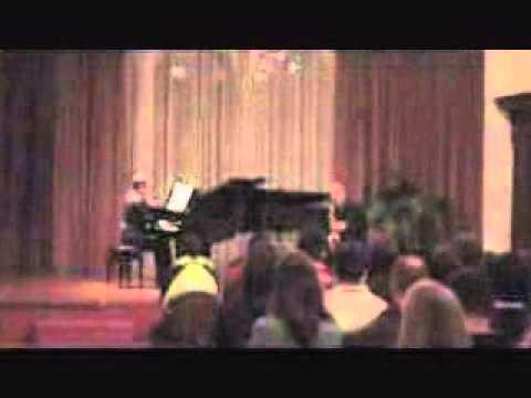 Jean Denis Michat: Sonate Brahms andante