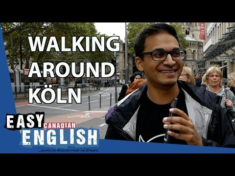 What is it Like on the Streets of Cologne? | Super Easy English 18 photo