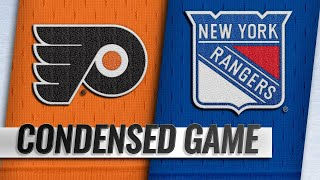 12/23/18 Condensed Game: Flyers @ Rangers