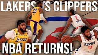 Lakers vs Clippers | NBA Film Room