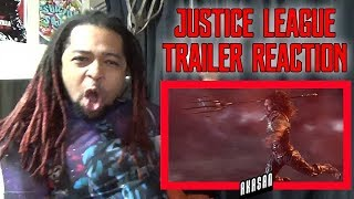 JUSTICE LEAGUE - Official Heroes Trailer REACTION & REVIEW (MY MAN!!!)