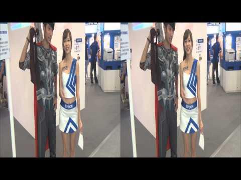 20130804 索爾+Abbie 2013台北應用展 世貿一館 3D Ver.