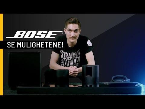 Hvordan kan Bose-produktene snakke sammen?