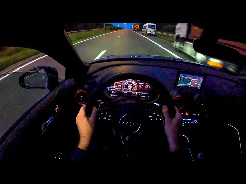 2020 Audi RS3 8V Sportback with Sport Exhaust | POV NIGHT Drive | Walkaround