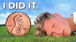 I Survived On $0.01 For 1 Week - Final Day