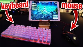 Is This Considered CHEATING on Fortnite...? (Mouse & Keyboard on Fortnite Mobile)