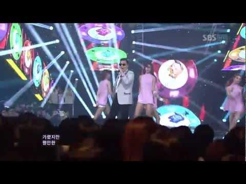 PSY_0902_SBS Inkigayo_GANGNAM STYLE (강남스타일)