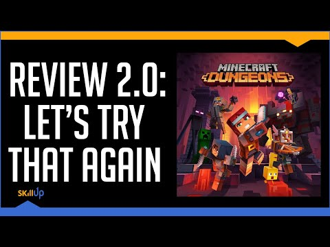 Another Minecraft Dungeons Review (Because everyone hated the first one)