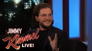 Kit Harington's Vacation Planning Fail
