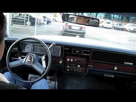 Test Drive The 1990 Chevrolet Caprice Classic Start Up