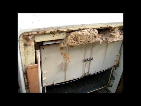 Fridge Stuffed With Asbestos ☠ Youtube