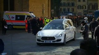 Davide Astori funeral: fans and football stars bid farewell