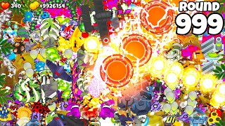 I BEAT Round 999 in Bloons TD 6, This Is How I Did It.