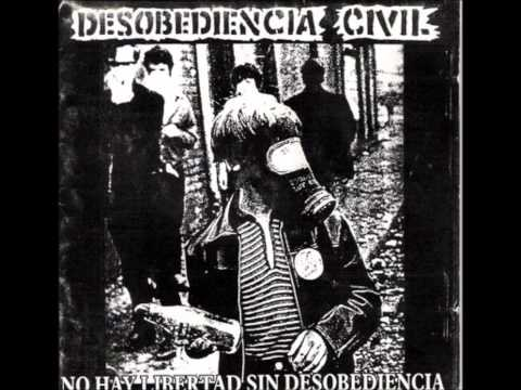desobediencia civil-Anarkopunk