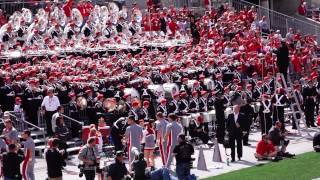 Ohio State Marching Band Superman Stand Tune 9 13 2014 OSU vs. Kent State