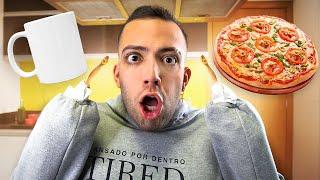 #CozinhaDoRangel 2 - PIZZA DE CANECA (cozinhando com bracinhos)