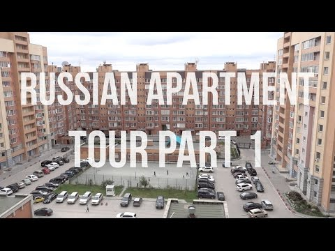 Russian Apartment Tour in Novosibirsk (Part 1)