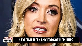 Kayleigh McEnany FORGOT HER LINES