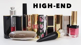 [SWATCH + REVIEW] HIGH-END LIPSTICK COLLECTION (PART 1) (WITH CC ENGSUB)