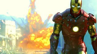 Iron Man vs Terrorists - Gulmira Fight Scene - Movie CLIP HD