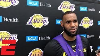 LeBron James reacts to son wearing No. 23: 'It made me feel proud'   NBA Sound