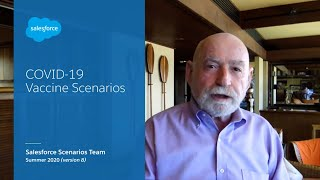 Three COVID-19 Vaccine Scenarios with Salesforce's Chief Futurist Peter Schwartz | Salesforce