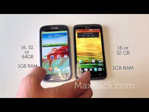 Galaxy S III VS HTC One X - 10 Round Phone Review