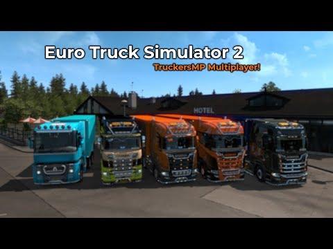 Euro Truck Simulator 2 - TruckersMP (Livestream 06/10/2018)