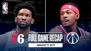 Full Game Recap: 76ers vs Wizards | Beal and Embiid Both Go For 30+ Points